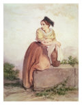 Arlesienne from the Time of Daudet and Bizet Giclee Print by Joseph Bonaventure Laurens