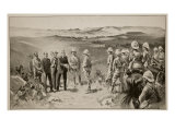 The Formal Surrender of Bloemfontein, from a Sketch by W.B. Wollen Ri Giclee Print by Joseph Finnemore