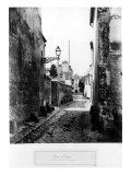 Rue de Scipion, from the Rue des Francs-Bourgeois, Paris, 1858-78 Giclee Print by Charles Marville