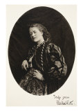 Ellen Terry, 14th July 1865 Giclee Print by Charles Lutwidge Dodgson