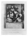 A Front Theatre Box, engraved by Julien Giclee Print by Paul Gavarni
