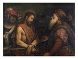 Christ before Caiaphas Giclee Print by Niccolo Frangipane