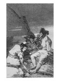 Lads Making Ready, Plate 11 of 'Los caprichos', pub. 1799 Giclee Print by Francisco de Goya