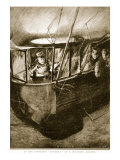 The Forward 'Gondola' of the Zeppelin Airship, 1914-19 Giclee Print