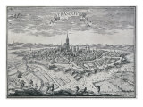 View of Strasbourg, c.1659 Giclee Print by Adam Perelle