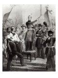Alphonse de Lamartine Giclee Print by E. Charpentier
