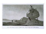 The Sphinx at Giza, from 'Voyage en Egypte' Giclee Print by Dominique Vivant Denon