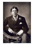 Oscar Wilde, 1889 Giclee Print by W. And D. Downey