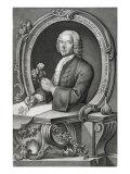 Portrait of Georg Dionysius Ehret, Giclee Print
