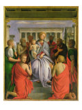 Madonna and Child with Eight Saints, 1520s Giclee Print by Bartolommeo Suardi Bramantino