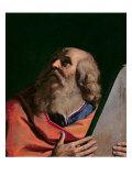 Moisés Lámina giclée por  Guercino