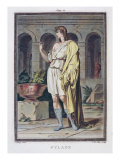 Pylades, Costume for 'Andromache' by Racine, 'Research on Costumes and Theatre of All Nations' Giclee Print by Philippe Chery