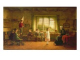The Dame's School, 1899 Giclee Print by Frederick Daniel Hardy