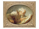 A Philosopher, c.1764 Reproduction procédé giclée par Jean-Honore Fragonard