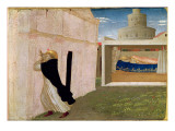 The Dream of Innocent III, from the Predella Panel of the Coronation of the Virgin, c.1430-32 Giclee Print by  Fra Angelico