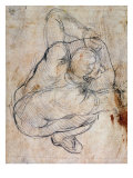Study for the Last Judgement Giclee Print by Michelangelo Buonarroti