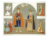 Georgia in the XVth century: King Alexander I Giclee Print by Grigori Grigorevich Gagarin