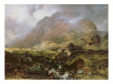Glencoe, 1847 Giclee Print by Horatio Mcculloch