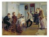 Hiring of a Maid, 1891-92 Giclee Print by Vladimir Egorovic Makovsky