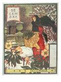 December Giclee Print by Eugene Grasset
