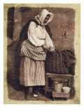 Oyster Woman, 1843-47 Giclee Print by David Octavius Hill
