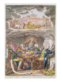 Delicious Dreams! Castles in the Air! Glorious Prospects! Giclee Print by James Gillray