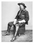 Portrait of General Armstrong Custer Lámina giclée por Mathew Brady