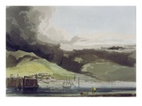 Funchall, Plate 1 from 'A Voyage to Cochinchina' by John Barrow Giclee Print by Samuel Daniell