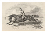 The Baron', the Winner of Great St. Leger, from 'The Illustrated London News', 27th September 1845 Giclee Print by John Frederick Herring II