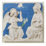 The Annunciation Giclee Print by Andrea Della Robbia