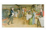 Begging for Supper Giclee Print by Cecil Aldin