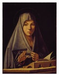 Virgin Annunciate Reproduction procédé giclée par Antonello da Messina