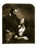 Alexander Munro and His Wife, 7th October 1863 Giclee Print by Charles Lutwidge Dodgson