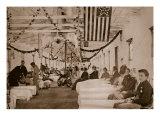 Army Hospital Near Washington, D.C., 1861-65 Giclee Print by Mathew Brady & Studio