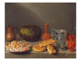 Still Life with Bread, 1648 Giclee Print by Francisco Palacios