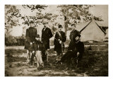 Group of Unknown Federal Officers, 1861-65 Giclee Print by Mathew Brady & Studio