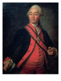 Portrait of Field Marshal Generalissimo, Count Aleksandr Vasilievich Suvorov Giclee Print by Dmitri Grigor'evich Levitsky