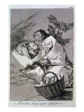 There is Plenty to Suck, Plate 45 of 'Los caprichos', 1799 Giclee Print by Francisco de Goya