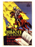Don Quixote, Spanish Movie Poster, 1934 Prints