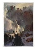Ride of the Valkyries, 1906 Giclee Print by Hermann Hendrich