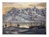 Fishing Boats at Lofoten, 1905 Giclee Print by Nico Jungman