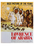 Lawrence of Arabia, 1963 Plakát