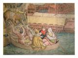 Campaign of Emperor Charles V against the Turks at Tunis in 1535 Giclée-Druck von Jan Cornelisz Vermeyen