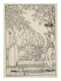 L'Heureux Accord, 1918 Giclee Print by Konstantin Andreevic Somov
