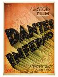 Dante's Inferno, Swedish Movie Poster, 1935 Art