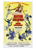 Seven Brides for Seven Brothers, 1954 Giclée-tryk