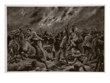 The Mishap to the Victorians at Wilmansrust, June 12, 1901 Giclee Print by Richard Caton Woodville