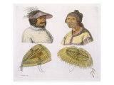 Eskimos from North America Giclee Print by G. Bramati