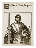 Sir Bors De Ganis, the Good, Illustration from 'The Story of Sir Launcelot and His Companions' Giclee Print by Howard Pyle