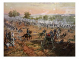 The Battle of Gettysburg, July 1St-3rd 1863 Giclee Print by Henry Alexander Ogden